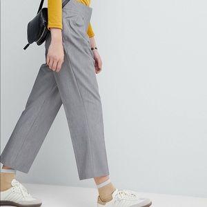 ASOS tailored cropped dress pants grey size 12